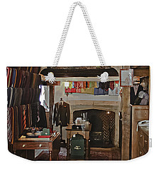 Weekender Tote Bag featuring the photograph Are You Being Served ? by Terri Waters