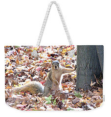 Are You Looking At Me ? Weekender Tote Bag