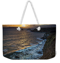 Ares Estuary Mouth Galicia Spain Weekender Tote Bag
