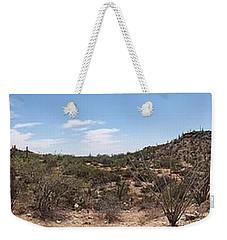 Arizona Desert Panorama Weekender Tote Bag