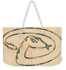Arizona Diamondbacks Logo Vintage Weekender Tote Bag