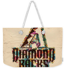 Arizona Diamondbacks Poster Vintage Weekender Tote Bag