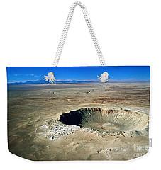 Arizona Meteor Crater Weekender Tote Bag