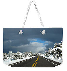 Arizona Snow 1 Weekender Tote Bag