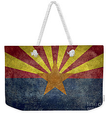Arizona State Flag Weekender Tote Bag