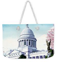 Arkansas Capitol Blossoms Weekender Tote Bag