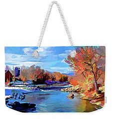 Arkansas River In Salida Co Weekender Tote Bag