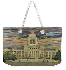 Arkansas State Capitol Weekender Tote Bag