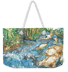 Arkansas Stream Weekender Tote Bag