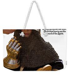 Armor Of God Weekender Tote Bag