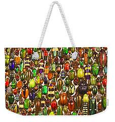 Army Of Beetles And Bugs Weekender Tote Bag by Brooke T Ryan