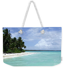 Weekender Tote Bag featuring the photograph Arno Island by Andrea Anderegg