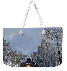 Weekender Tote Bag featuring the photograph Around The Bend by Alana Ranney