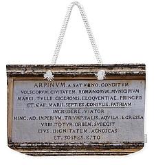 Arpinium Weekender Tote Bag