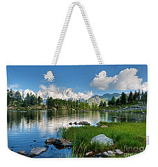 Arpy Lake - Aosta Valley Weekender Tote Bag