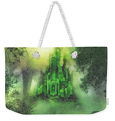 Arrival To Oz Weekender Tote Bag by Mo T