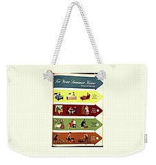 Arrows And Illustrations Weekender Tote Bag