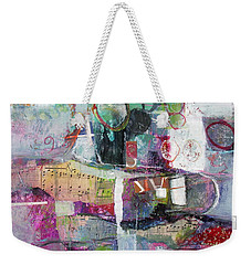Art And Music Weekender Tote Bag