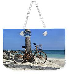 Art Bike Weekender Tote Bag