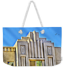 Art Deco Condominium Weekender Tote Bag