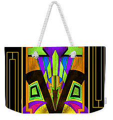 Art Deco - Design 5 B Mat Weekender Tote Bag