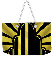 Art Deco Poster - Title Weekender Tote Bag