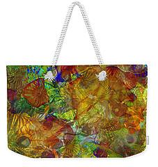 Art Glass Overlay Weekender Tote Bag