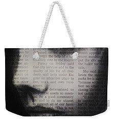 Art In The News 9 Weekender Tote Bag