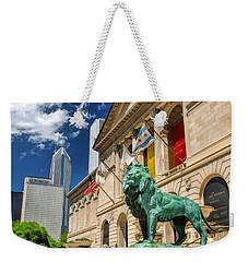 Art Institute In Chicago Weekender Tote Bag