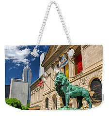 Art Institute In Chicago Weekender Tote Bag