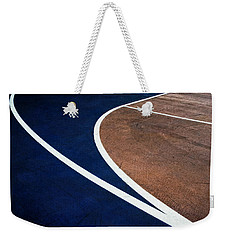 Art On The Basketball Court  11 Weekender Tote Bag by Gary Slawsky