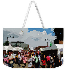 Art On The Square - Belleville Illinois Weekender Tote Bag