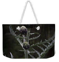 Weekender Tote Bag featuring the photograph Artichoke by Jocelyn Friis