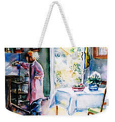 Artist At Work In Summer  Weekender Tote Bag
