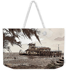 Tugboat From Louisiana Katrina Weekender Tote Bag by Luana K Perez