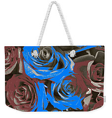 Weekender Tote Bag featuring the photograph Artistic Roses On Your Wall by Joseph Baril