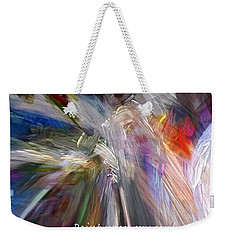 Artist's Prayer Weekender Tote Bag