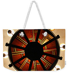 Arts And Crafts Chandelier At Summit Inn Weekender Tote Bag