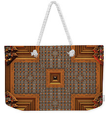 Weekender Tote Bag featuring the digital art Arts And Crafts by Lyle Hatch