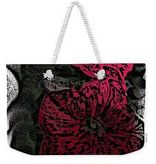 Artsy Petunias Weekender Tote Bag