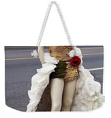 Weekender Tote Bag featuring the photograph Artwork In The Loop by Kelly Awad