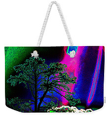 Weekender Tote Bag featuring the photograph As Evening Fell by Susanne Still