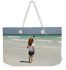 As The Sail Boat Rolls By Weekender Tote Bag