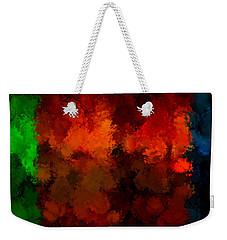 As The Seasons Turn Weekender Tote Bag by Lourry Legarde