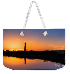As The Sun Sets And The Water Reflects Weekender Tote Bag
