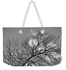 Weekender Tote Bag featuring the photograph Ash And Light by Robyn King