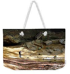 Ash Cave In Hocking Hills Weekender Tote Bag