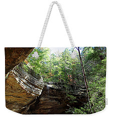 Ash Cave Of The Hocking Hills Weekender Tote Bag