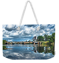 Ashepoo Train Trestle Weekender Tote Bag