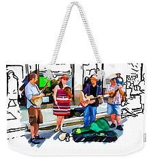 Asheville Buskers Weekender Tote Bag
